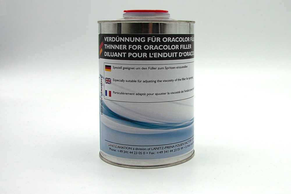 Thinner for ORACOLOR filler
