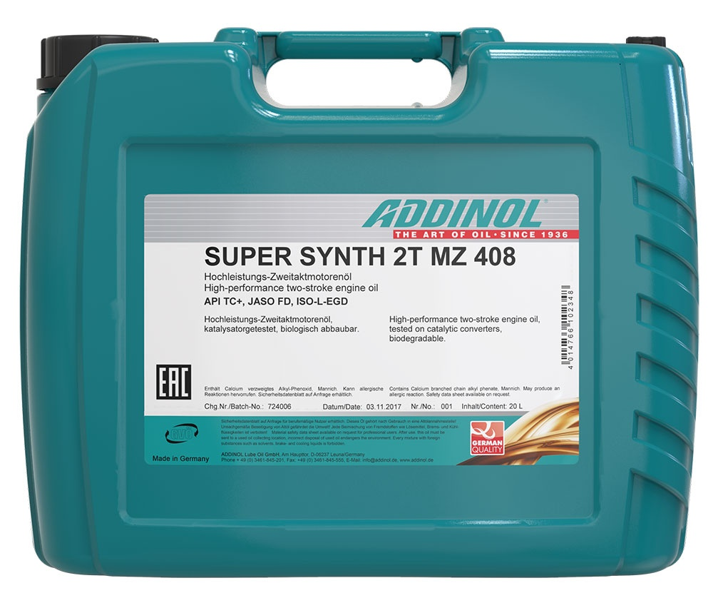 Addinol Super Synth 2T MZ 408